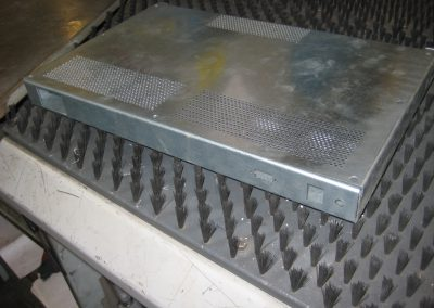 Aluminium behuizing electronica