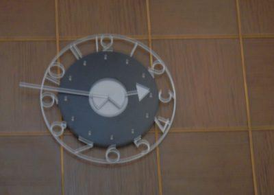 Eindresultaat klok voor Omroepmuseum