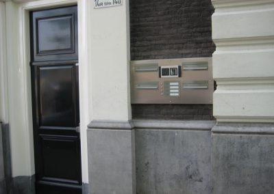 RVS entreebord Amsterdam